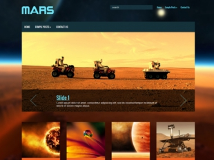 Mars Premium WordPress Theme