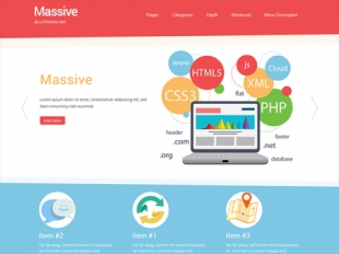 Massive Premium WordPress Theme