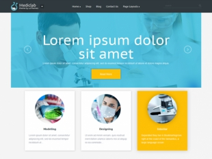 MedicLab Premium WordPress Theme