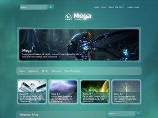 Mega Premium WordPress Theme