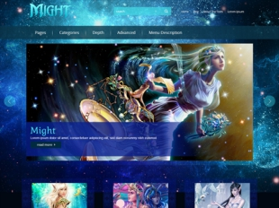 Might Premium WordPress Theme