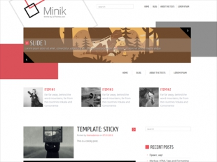 Minik Premium WordPress Theme