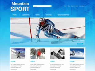 MountainSport Premium WordPress Theme