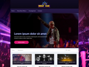 MusicClub Premium WordPress Theme