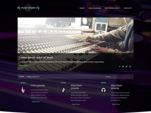 MusicStudio Premium WordPress Theme
