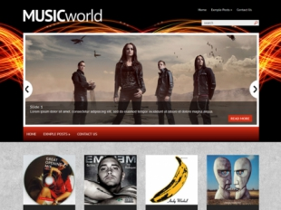 MusicWorld Premium WordPress Theme