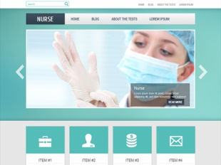 Nurse Premium WordPress Theme