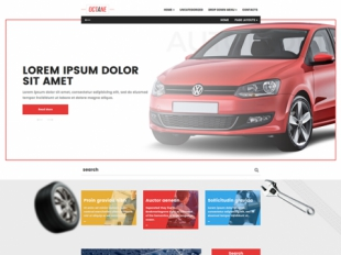 Octane Premium WordPress Theme