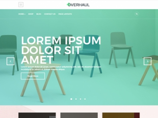 Overhaul Premium WordPress Theme