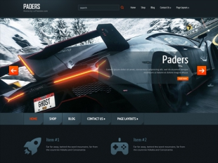 Paders Premium WordPress Theme
