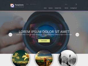 PastPhoto Premium WordPress Theme