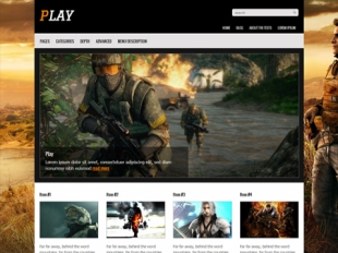 Play Premium WordPress Theme