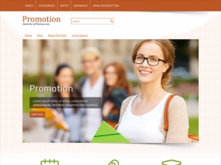 Promotion Premium WordPress Theme