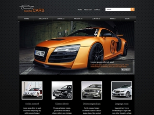 RacingCars Premium WordPress Theme