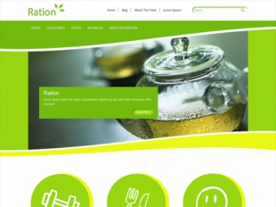 Ration Premium WordPress Theme