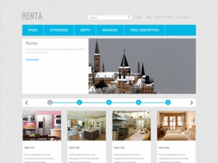 Renta Premium WordPress Theme