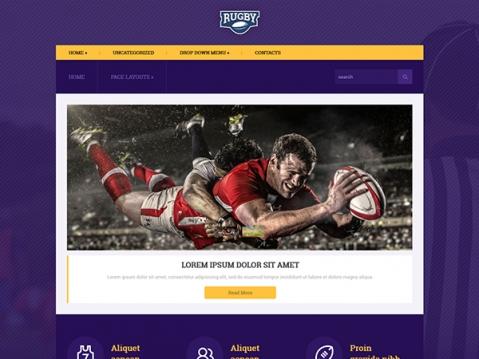 Rugby Premium WordPress Theme