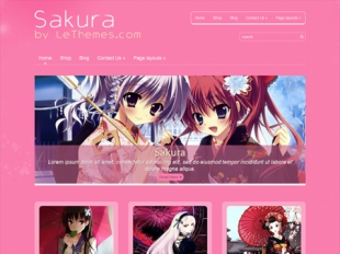 Sakura Premium WordPress Theme