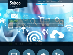 Salcop Premium WordPress Theme