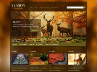 Season Premium WordPress Theme