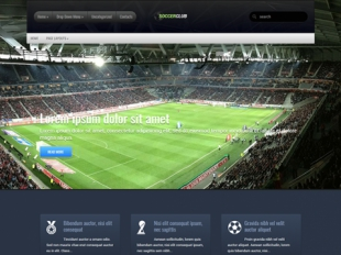 SoccerClub Premium WordPress Theme