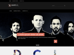 SoundClub Premium WordPress Theme