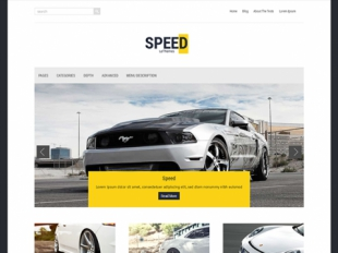 Speed Premium WordPress Theme