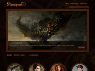 Steampunk Premium WordPress Theme