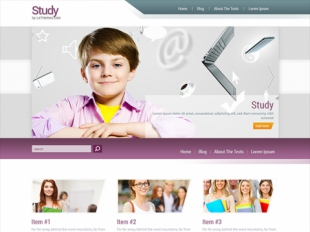 Study Premium WordPress Theme