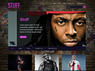 Stuff Premium WordPress Theme