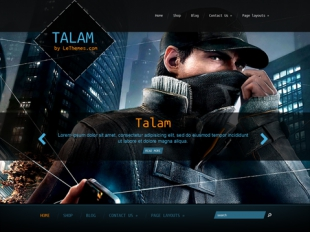 Talam Premium WordPress Theme