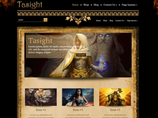 Tasight Premium WordPress Theme