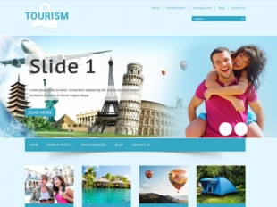 Tourism Premium WordPress Theme