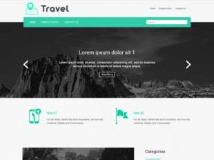 Travel Premium WordPress Theme