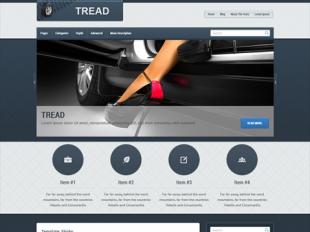 Tread Premium WordPress Theme
