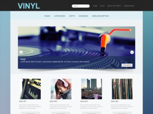 Vinyl Premium WordPress Theme
