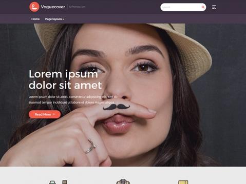 VogueCover Premium WordPress Theme