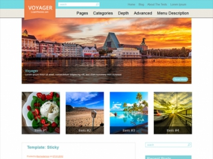Voyager Premium WordPress Theme