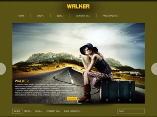 Walker Premium WordPress Theme