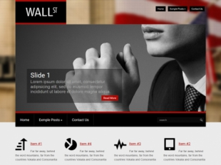 WallStreet Premium WordPress Theme