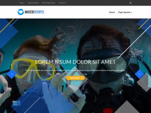 WaterSports Premium WordPress Theme
