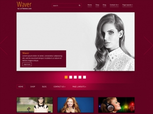 Waver Premium WordPress Theme