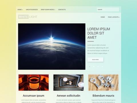 WhiteLight Premium WordPress Theme