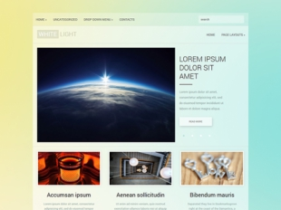 WhiteLight Premium WordPress Theme