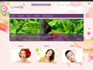 WonderFly Premium WordPress Theme