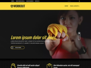 WorkOut Premium WordPress Theme