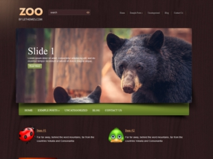 Zoo Premium WordPress Theme