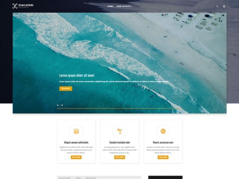 Zvacation Premium WordPress Theme
